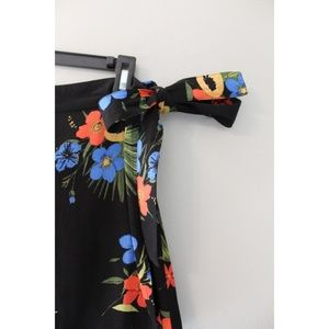 Out From Under Skirts - Hawaiian Wrap Front Tie Skirt